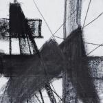 Sem título - 2013 - grafite e carvão sobre papel - 25 x 20 cm