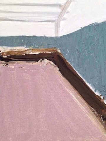 Untitled - 2014 - acrylic on canvas - 44 x 34.5 cm
