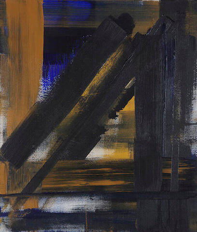 Untitled - 2013 - acrylic on canvas - 70 x 60 cm