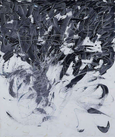 Untitled - 2010 - acrylic on canvas - 100 x 80 cm