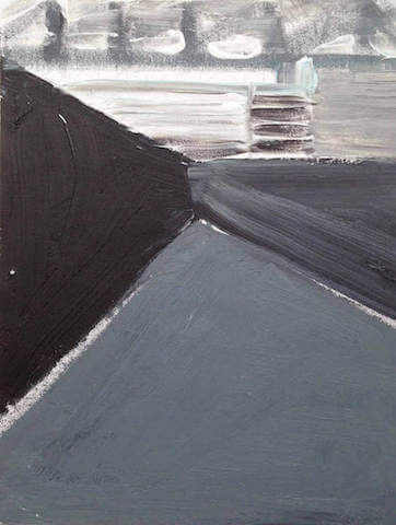 Untitled - 2014 - acrylic on canvas - 43 x 33 cm