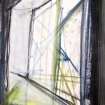 Sem título - 2016 - acrílica, carvão, giz, grafite e pastel sobre papel - 59,4 x 42 cm