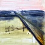 Sem título - 2016 - grafite, carvão, giz e pastel sobre papel - 29,7 x 21,6 cm