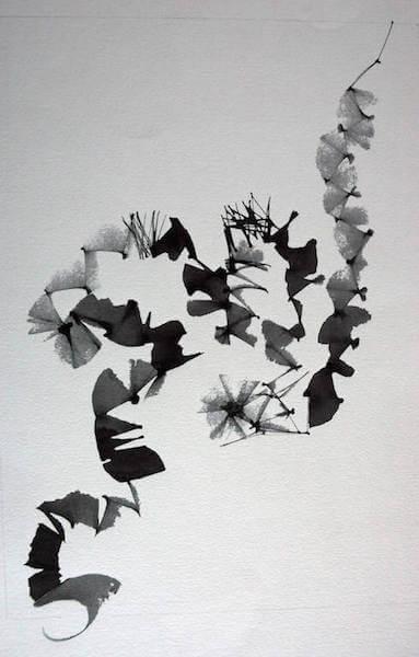 Sem título - 2008 - guache e nanquim sobre papel - 42 x 29,5 cm
