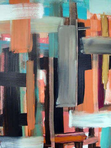 Untitled - 2013 - acrylic on canvas - 100 x 70 cm