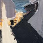 Sem título - 2016 - acrílica sobre linho - 27,5 x 23 cm