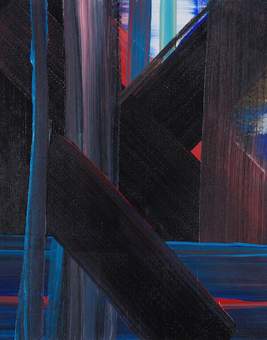Untitled - 2013 - acrylic on canvas - 50 x 40 cm