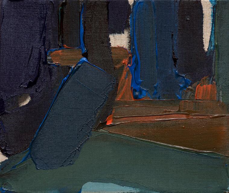 Sem título - 2016 - acrílica sobre linho - 27 x 23 cm