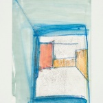Sem título - 2015 - grafite, giz, sobre papel - 29, 7 x 21 cm
