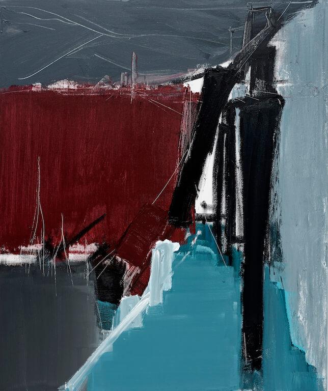 Untitled - 2015 - acrylic on canvas - 120 x 100 x 3,5 cm