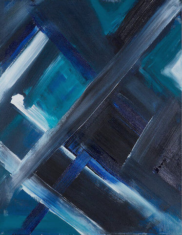 Untitled - 2011 - acrylic on canvas - 90 x 70 cm