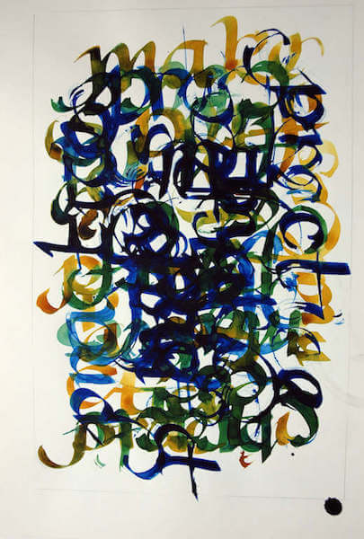 Sem título - 2010 - guache sobre papel - 42 x 29,5 cm