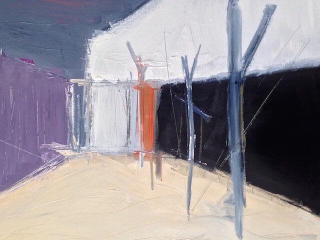 Untitled - 2015 - acrylic on canvas - 80 x 100 cm