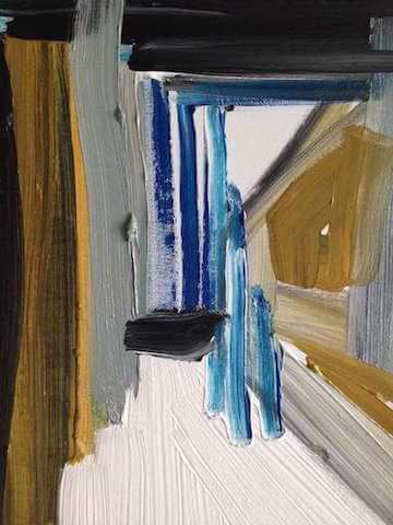 Untitled - 2014 - Acrylic on canvas - 50 x 40 cm