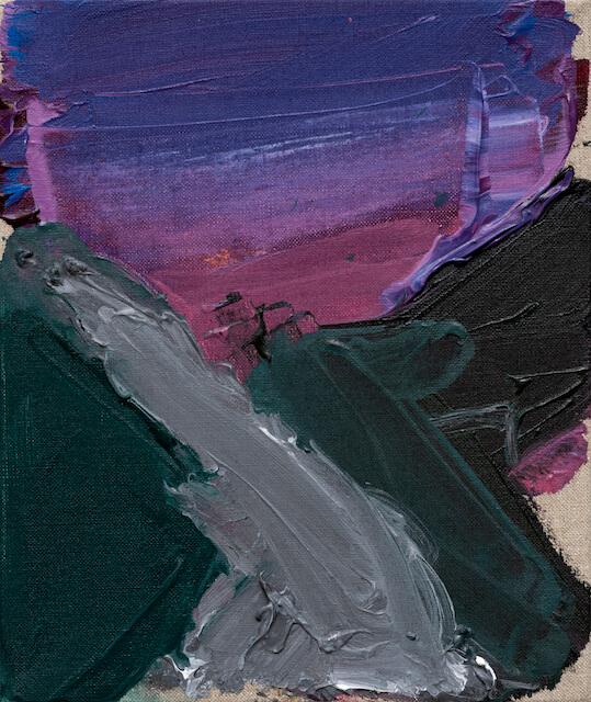 Sem título - 2017 - acrílica sobre linho - 27 x 23 cm