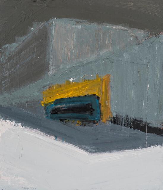 Untitled - 2015 - acrylic on canvas - 70 x 60 cm