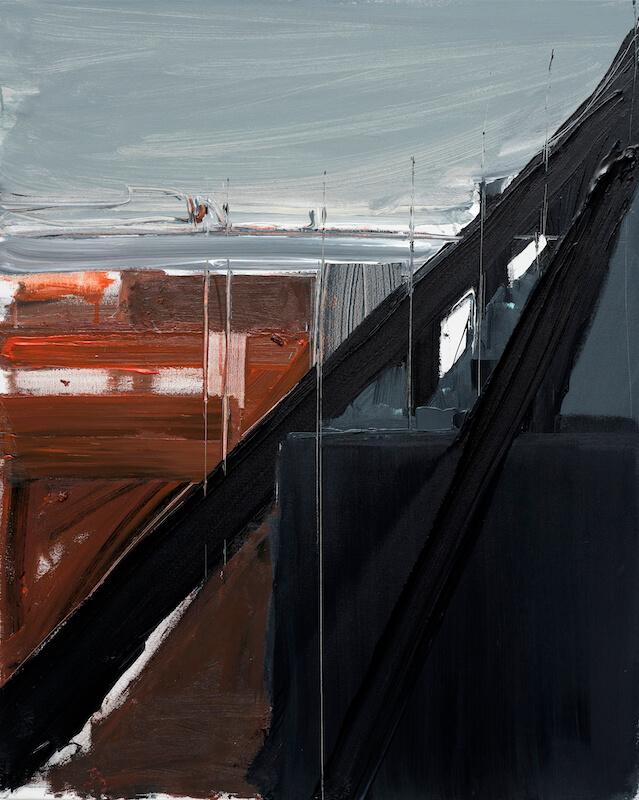 Untitled - 2015 - acrylic on canvas - 100 x 80 cm