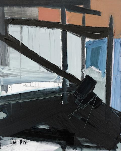 Untitled - 2015 - acrylic on canvas - 100 x 80,3 cm