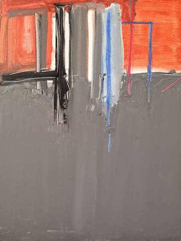 Untitled - 2014 - acrylic on canvas - 46 x 35,5 cm