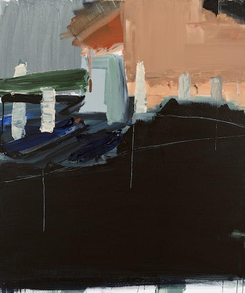 Untitled - 2015 - acrylic on canvas - 120 x 100 cm