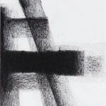 Sem título - 2013 - grafite e carvão sobre papel - 21 x 15 cm