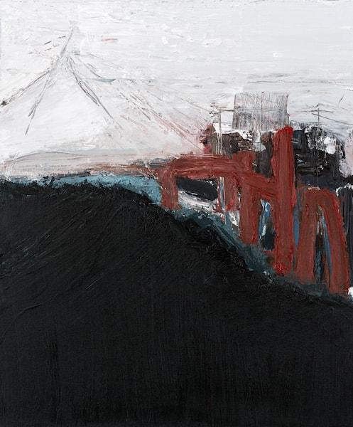 Sem título - 2015 - acrílica sobre tela - 60 x 50,3 cm