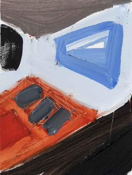 Untitled - 2015 - acrylic on canvas - 45 x 34,5 cm