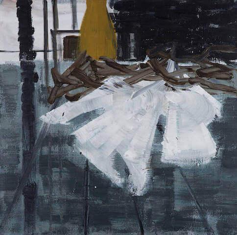 Untitled - 2013 - acrylic on canvas - 40 x 50 cm