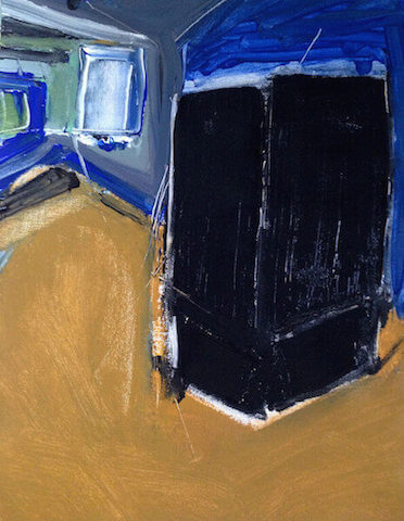 Untitled - 2014 - acrylic on canvas - 44 x 34 cm