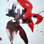Sem título - 2012 - acrílica sobre papel - 58 x 42 cm