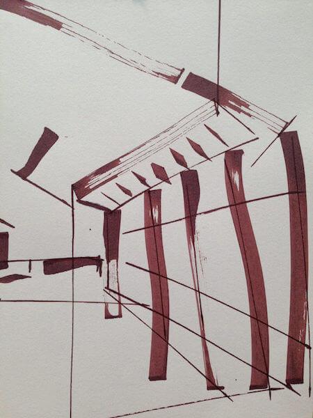 Sem título - 2014 - nanquim sobre papel - 21 x 14,8 cm