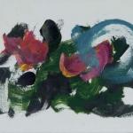 Sem título - 2011 - acrílica sobre papel - 21 x 30 cm