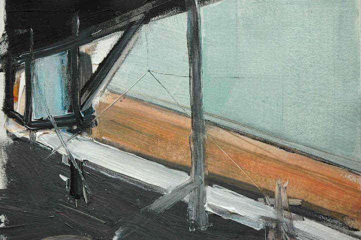 Untitled - 2014 - acrylic on canvas - 29 x 39 cm