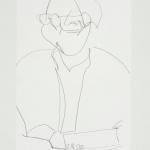 Sem título - 2017 - grafite sobre papel - 29,7 x 21 cm