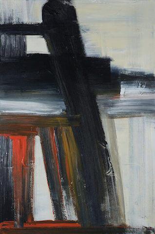 Untitled - 2012 - acrylic on canvas - 90 x 60 cm