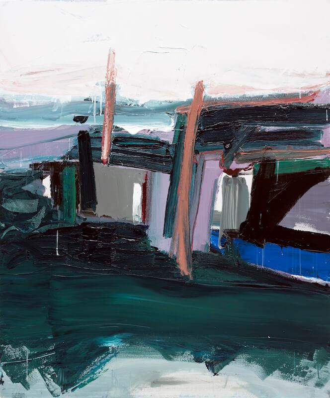 Untitled - 2016 - acrylic on canvas - 120 x 100 cm