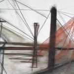 Sem título - 2014 - grafite, carvão, sanguínea e giz sobre papel - 41,8 x 59 cm