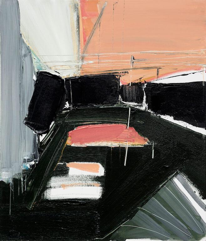 Untitled - 2016 - acrylic on canvas - 70 x 60 x 3 cm