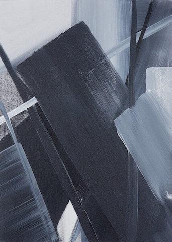 Untitled - 2013 - acrylic on canvas - 50 x 36 cm
