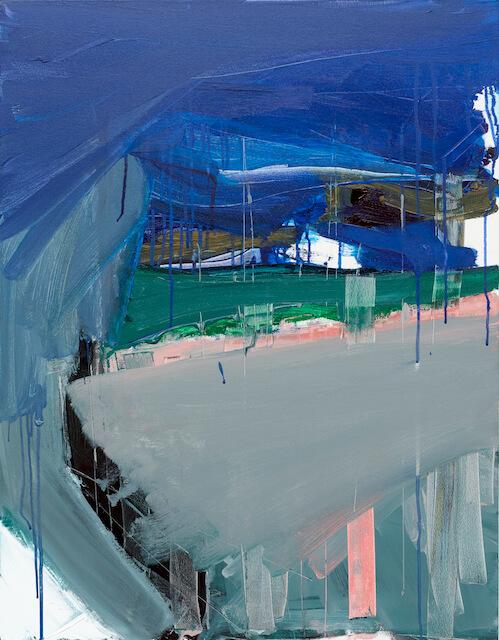 Untitled - 2016 - acrylic on canvas - 90 x 70 cm