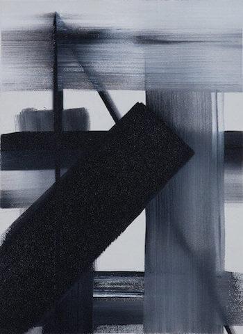 Untitled - 2013 - acrylic on canvas - 50 x 37 cm