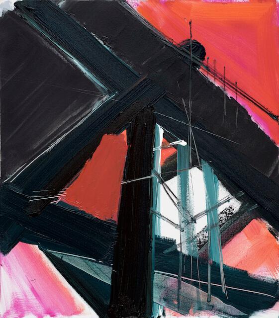 Untitled - 2016 - acrylic on canvas - 80 x 70 cm
