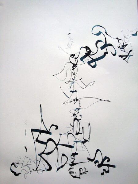 Sem título - 2013 - nanquim sobre papel - 42 x 29,5 cm