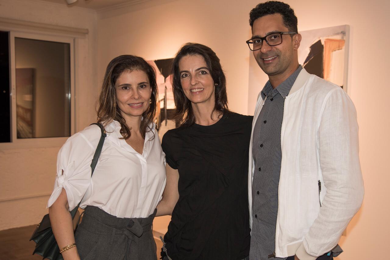 Renata Castro e Silva e Paulo Vicelli na Abertura Individual 2018