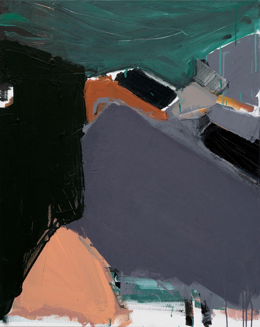 ESTA NA MINIATURA - sem titulo - 2016 - acrílica sobre tela - 100x80cm