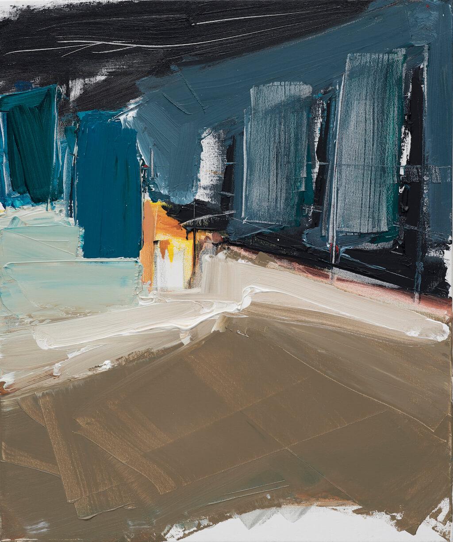 Untitled - 2017 - acrylic on canvas - 60cmx50cm