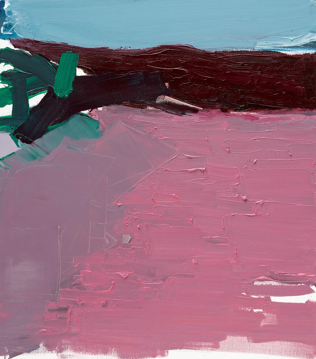 Untitled - 2017 - acrylic on canvas - 80cmx70cm
