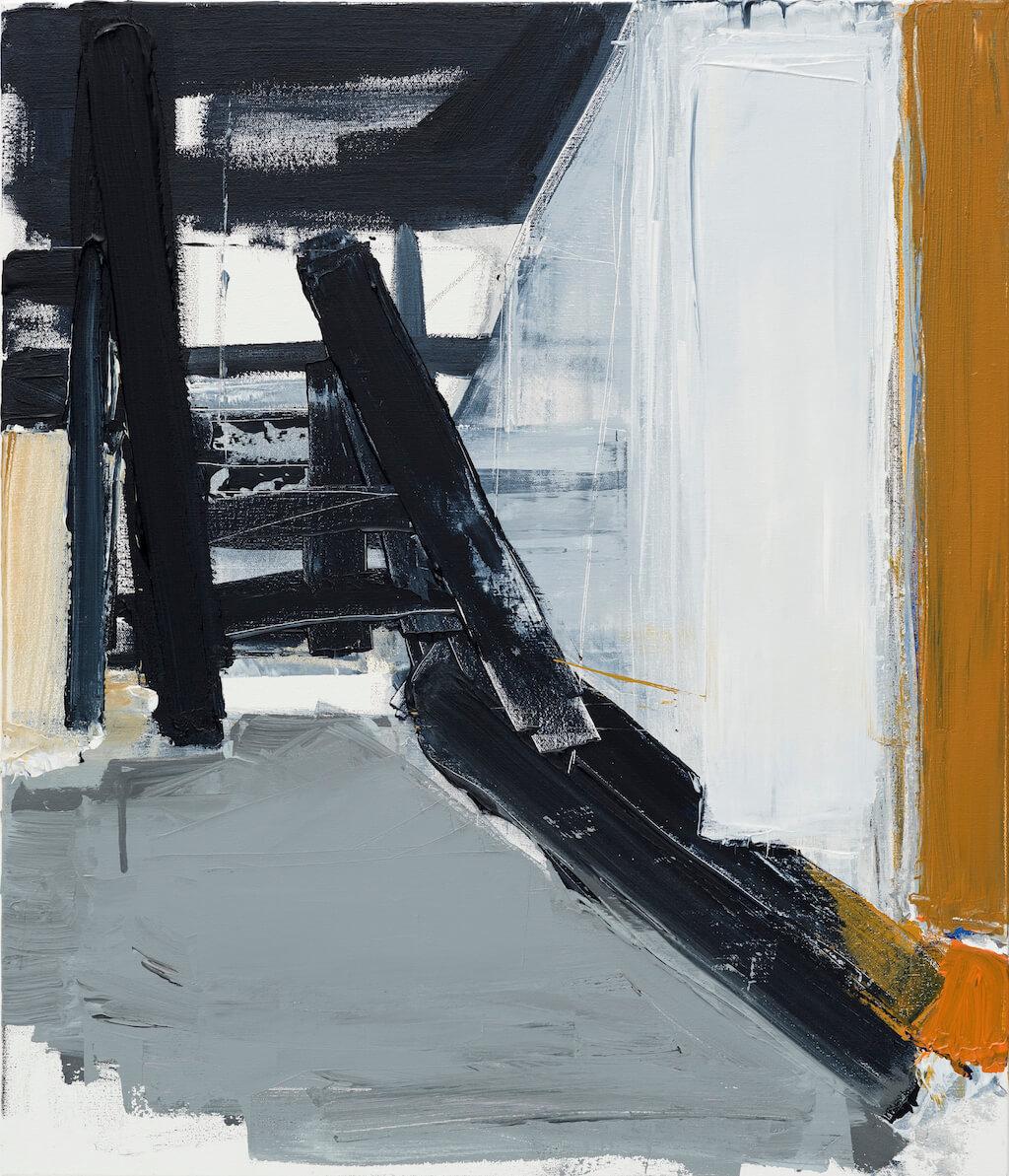 Untitled - 2018 - acrylic on canvas - 70cmx80cm