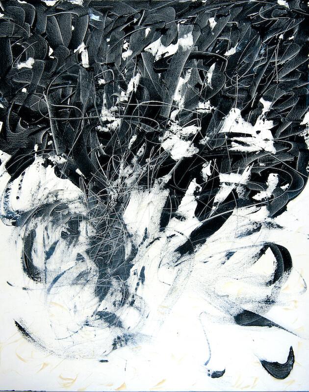 Sem título - 2010 - acrílica sobre tela - 100 x 80 cm