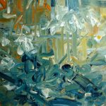 Sem título - 2012 - acrílica sobre tela - 100 x 100 cm